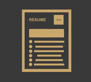 resume, bio data, job